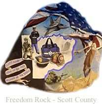 Download the Freedom Rock of Scott Co. Donation Form
