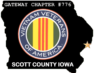 Click on Bettendorf, Iowa or the Gold Star to access local web sites. Click on the VVA Logo to go to National VVA website.